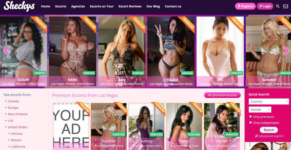 How to Find Las Vegas Escorts